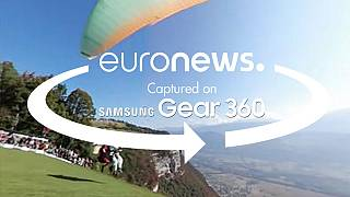 [360° video] Flying high at the Coupe Icare
