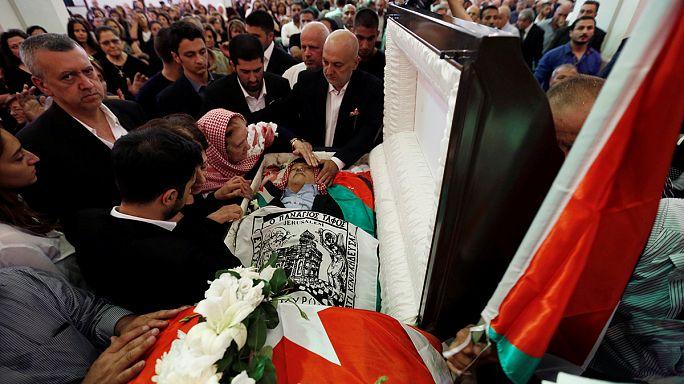 Giordania. I funerali di Nahed Hattar