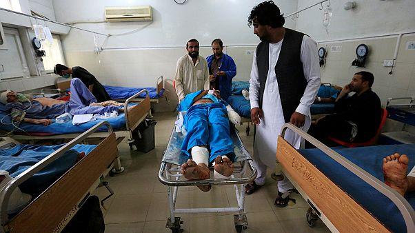 حمله هواپیمای بدون سرنشین آمریکا به افغانستان بیش از ده قربانی گرفت