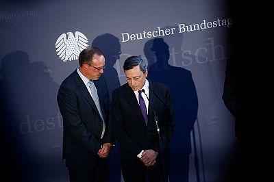 Draghi: Deutsche profitieren von EZB-Politik - keine Mitschuld an Bankproblemen