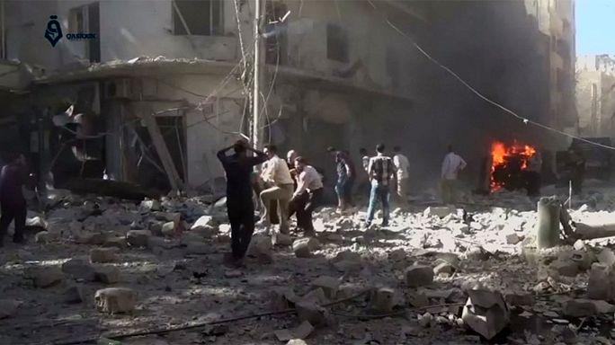 ENSZ-főtitkár: Aleppónál háborús bűnöket követnek el
