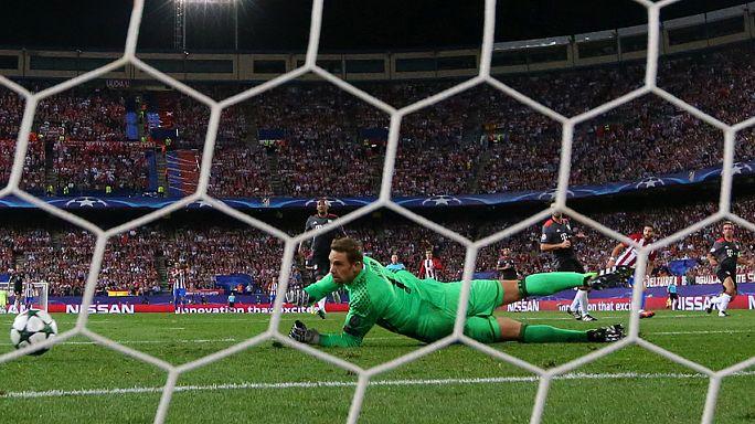 El Atlético vence al Bayern de Múnich (1-0), el Barça remonta y gana en el Borussia Park (1-2)