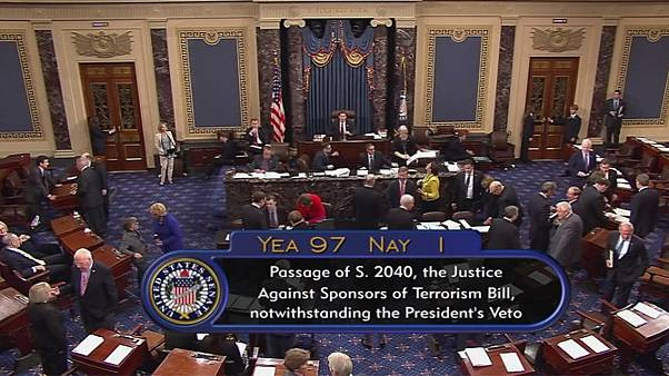 9/11 Gesetz: US-Kongress überstimmt erstmals ein Veto Obamas