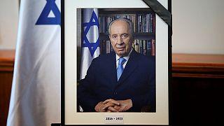İsrail Peres'in cenazesine hazırlanıyor