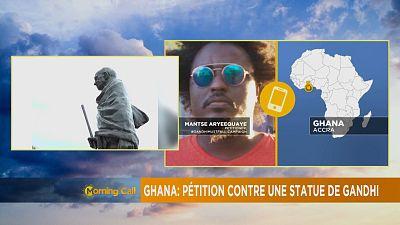 Ghana: Pétition contre une statue de Gandhi [The Morning Call]