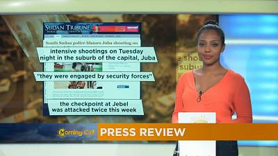 Press Review of September 29, 2016 [The Morning Call]