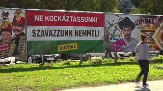 همه پرسی مجارستان برای رد سیاستهای مهاجرپذیری اتحادیه اروپا