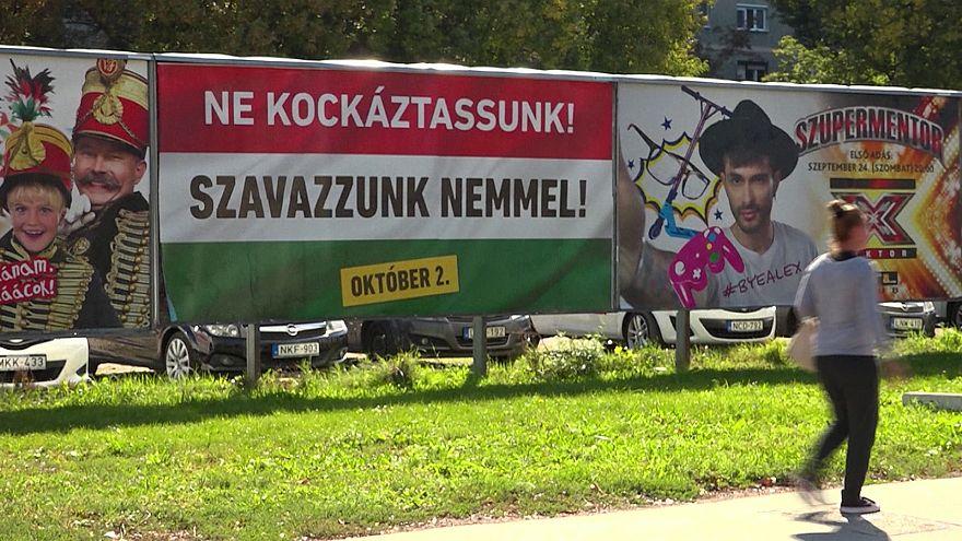 Ungarn vor dem Referendum: Regierungspartei wirbt für Ablehnung der EU-Flüchtlingsquote