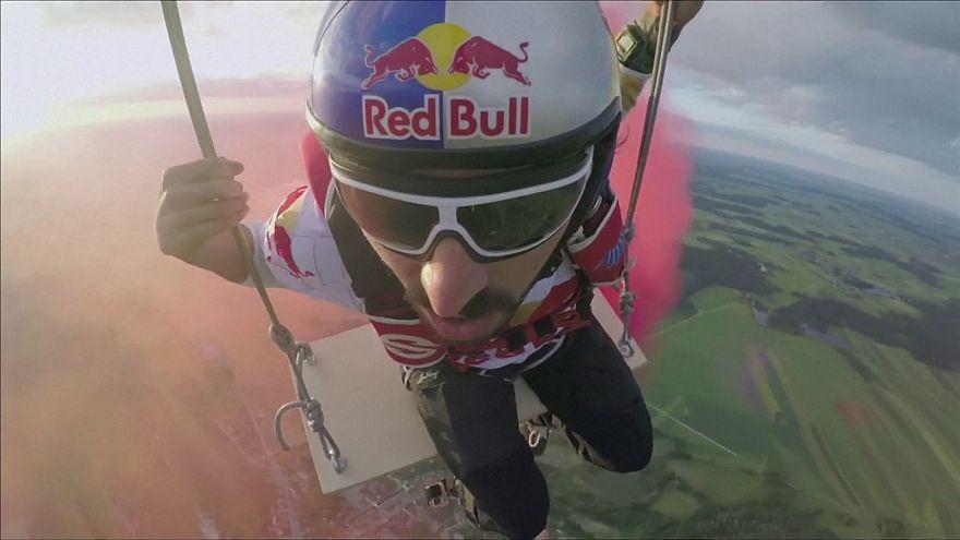 Sport estremi: l'altalena lunga 125 metri