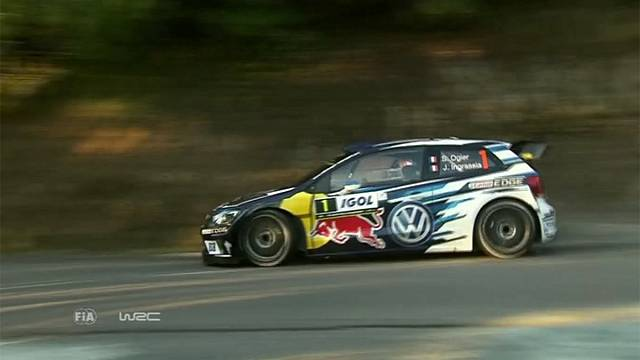Ogier leads after Corsica Rally shakedown