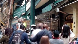 Hoboken train crash: 1 dead, 100 injured