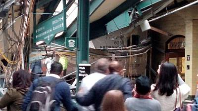 USA: 1 dead, 100 injured in New Jersey train crash