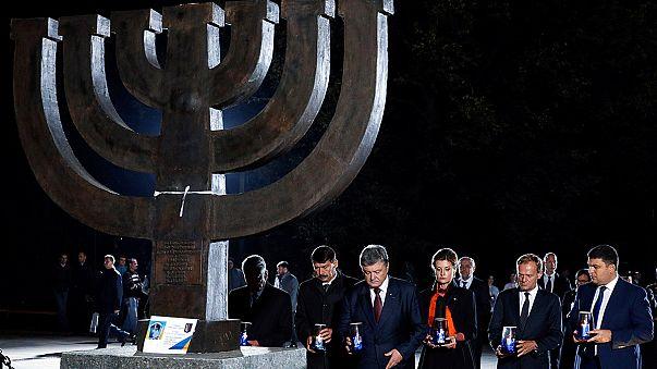 Triste anniversaire: l'Ukraine commémore les 75 ans du massacre de Babi Yar