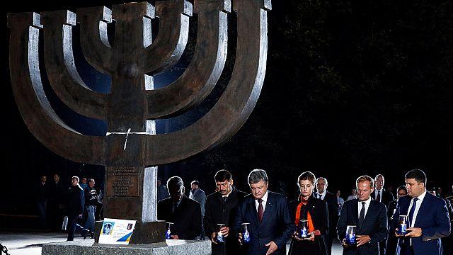 A Babij Jar-i mészárlásra emlékeztek a 75. évfordulón