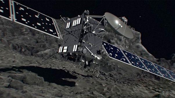 Az általa megfigyelt üstökösben ér véget a Rosetta pályája