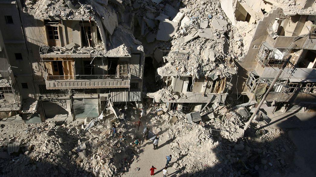 """""""Bombardear Alepo ahora no tiene excusa"""""""