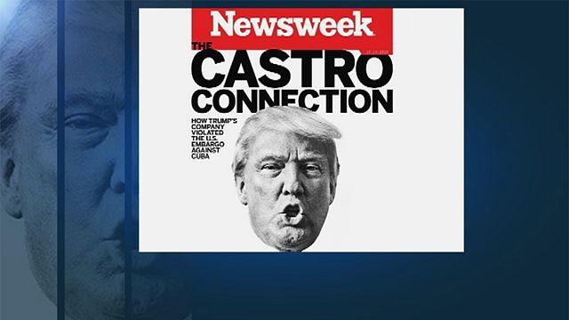 Las revelaciones de Newsweek sobre los negocios de Trump en Cuba marcan la campaña en Florida