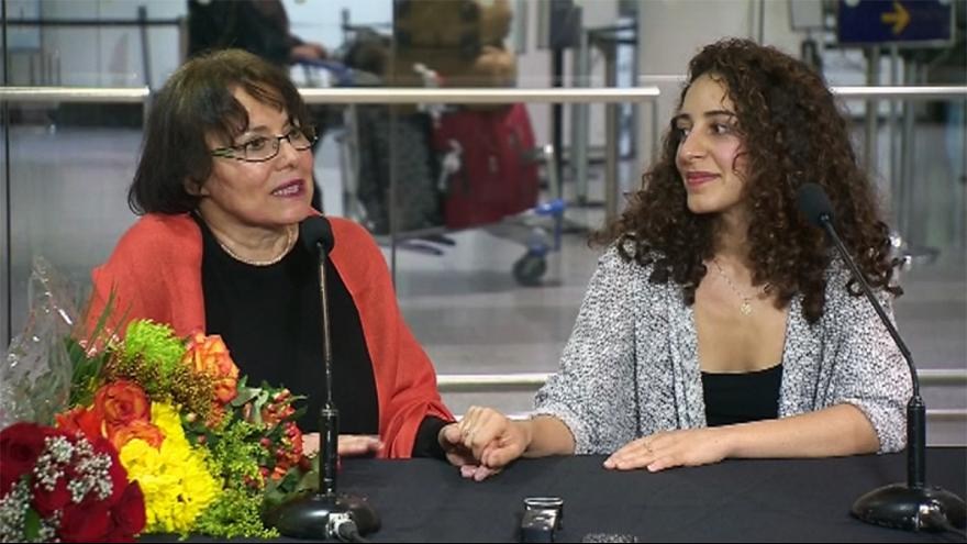 Academic back in Canada after being freed from Iran detention