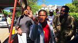 Sudáfrica: la policía reprime una manifestación de estudiantes universitarios