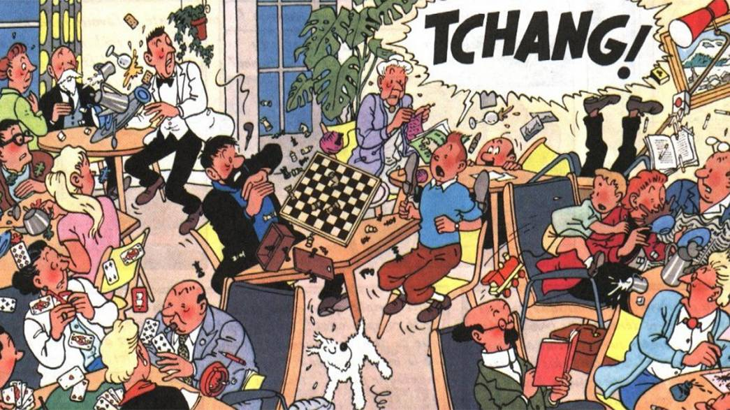 Check out big bottom, Tintin, Vermeer and Ernst Beyeler