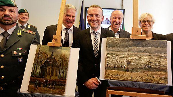 Maffiózó házából kerültek elő a lopott Van Gogh-képek