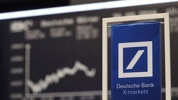 Deutsche Bank boss offers reassurance after shares slump