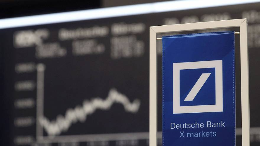 Deutsche Bank boss offers reassurance after shares slump