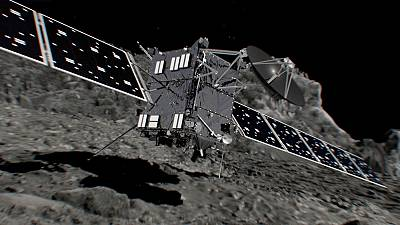 Rosetta crash-lands on her comet