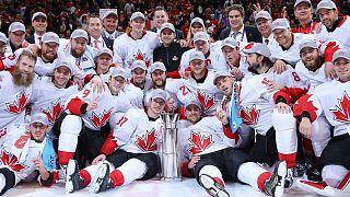 Canadá vence Taça do Mundo de hóquei em gelo