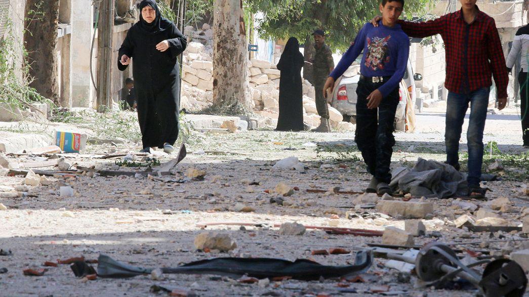 Síria: 100 crianças mortas nos bombardeamentos de Alepo