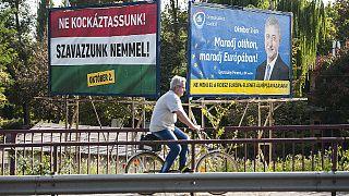 Hungría vota en un controvertido referéndum sobre las cuotas de refugiados de la UE