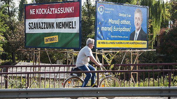Húngaros dizem no domingo o que pensam das quotas de refugiados da União Europeia