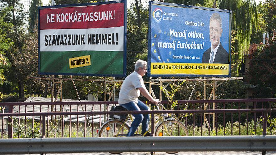Macarlar 2 Ekim'de mültecilere karşı referanduma gidiyor