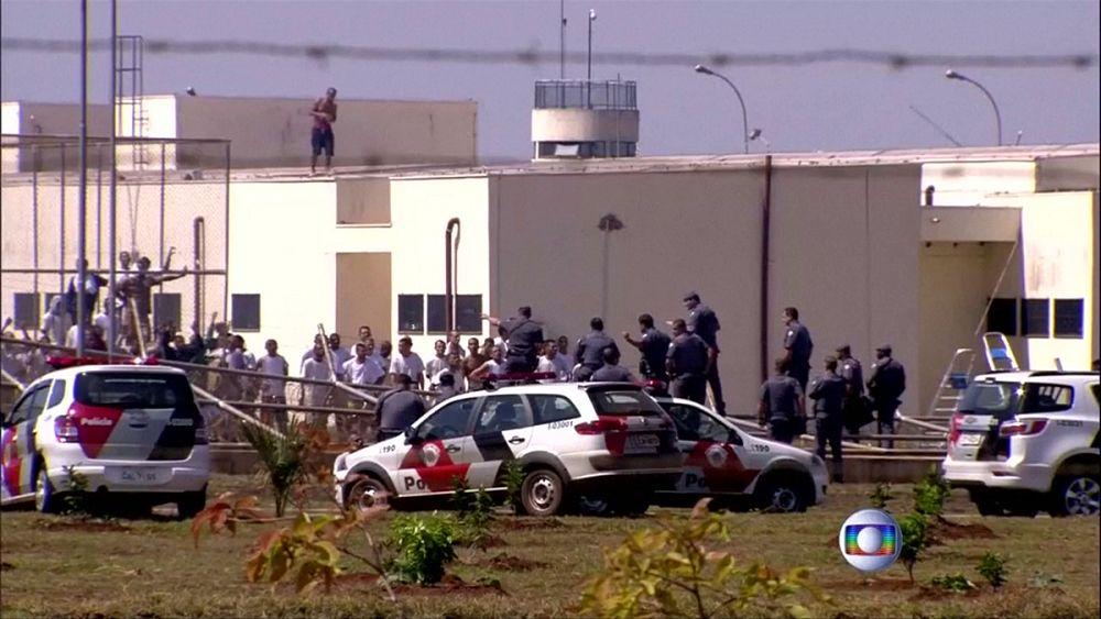 Jardinopolis: újabb börtönlázadás Brazíliában | Euronews - euronews