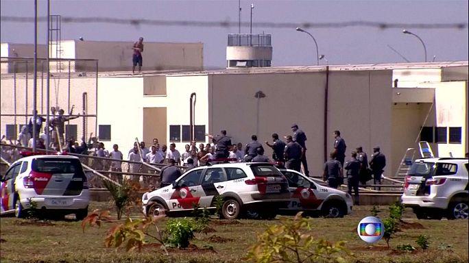 Brezilya'da cezaevinden toplu firar