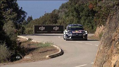 Ogier dominiert die Rallye Frankreich
