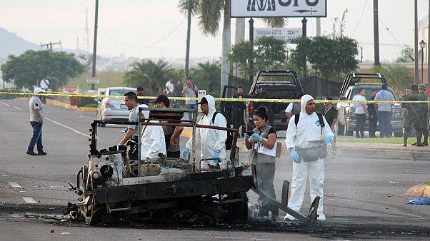 Meksika'da askere saldırı