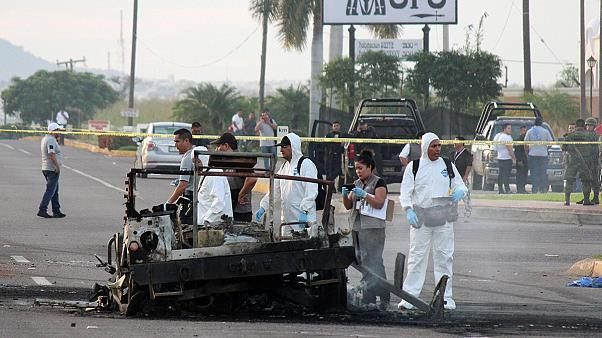Gefangenentransport in Mexiko überfallen: Sechs Tote