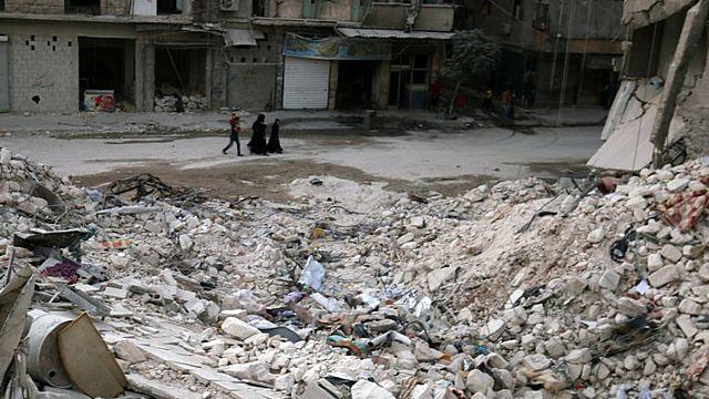 Syrie: de nouveaux avions russes dans le ciel d'Alep