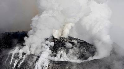 Watch: Mexican volcano erupts