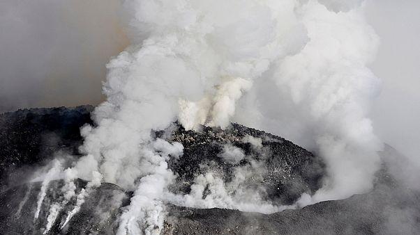Naturschauspiel im Zeitraffer: Ausbruch des Colima-Vulkans in Mexiko