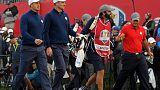 El equipo europeo salva 'in extremis' la primera jornada de la Ryder Cup