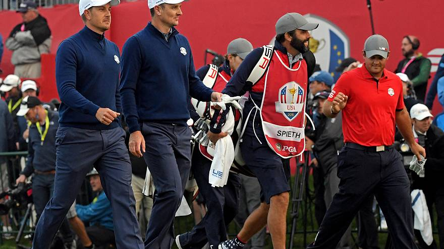 Ryder Cup 2016: Rose and Stenson spark European fightback