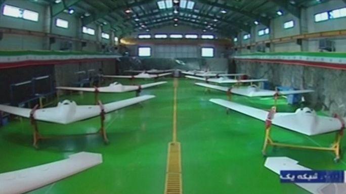 L'Iran présente un drone qui serait capable de transporter des bombes