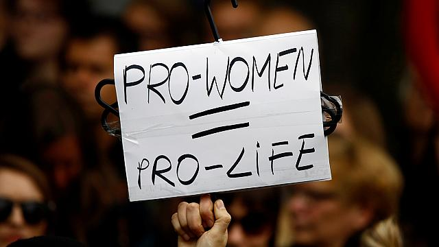 Thousands protest proposed total abortion ban in Poland