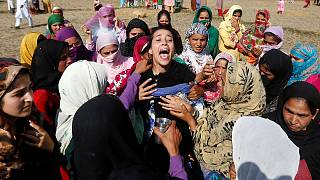 Villagers protest as tensions rise in Kashmir