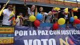 Колумбийцы решают на референдуме судьбу перемирия с ФАРК