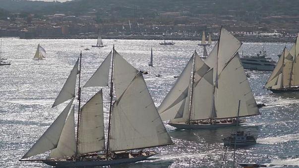 Tradición y modernidad se mezclan en las regatas de Saint-Tropez