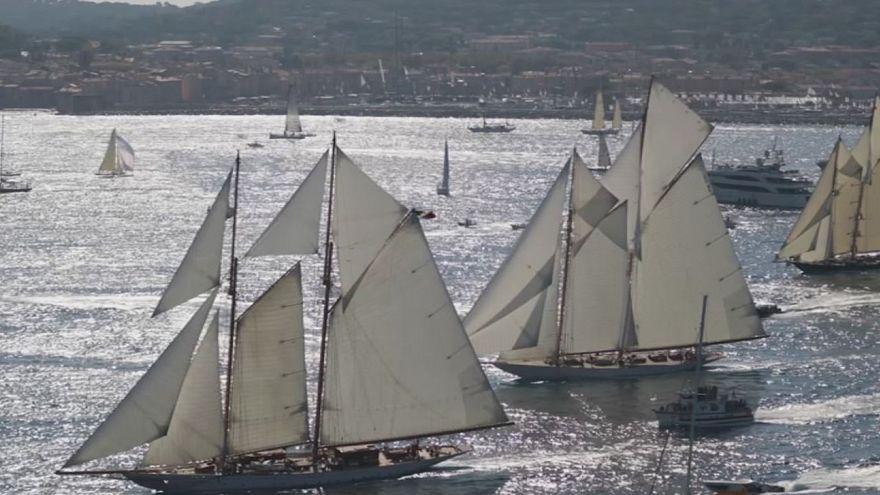 Фестиваль парусного спорта в Сен-Тропе