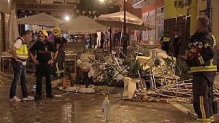 Испания: десятки пострадавших из-за взрыва газа в ресторане